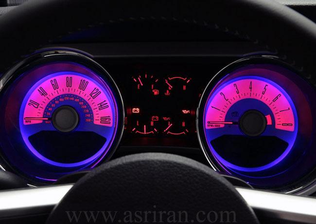 گزارش تصويري از خودروهاي 2011 /فورد Mustang GT