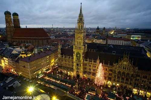آلمان در آستانه کریسمس ( تصویری )
