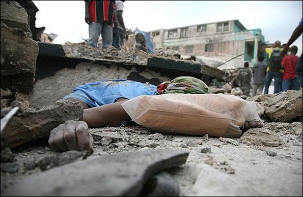 بزرگترین زمین لرزه 200 سال اخیر در هائیتی (تصویری)