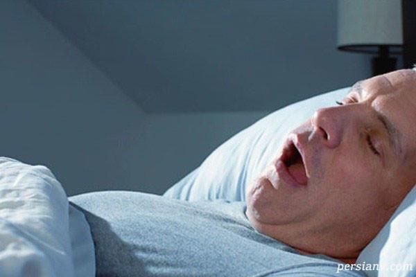 علت خوابیدن با دهان باز چیست