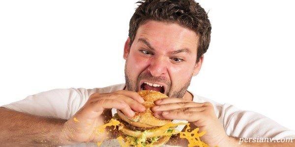 تست اعتیاد به غذا