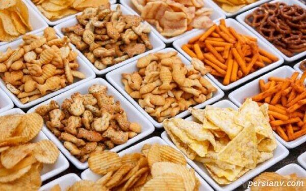 خوراکی های مضر برای اعصاب