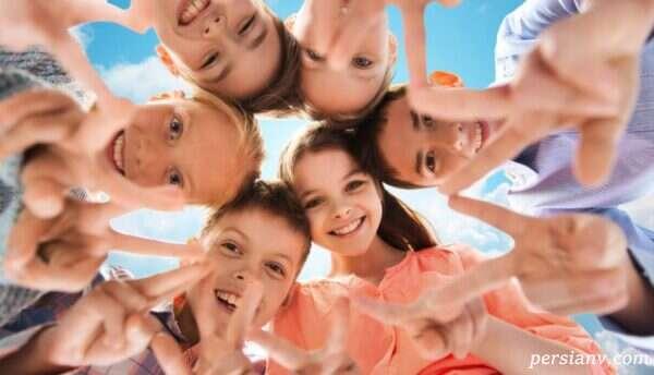 تربیت کودکان شاد