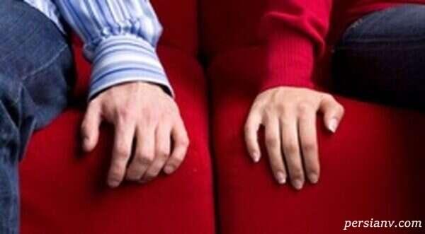 کم حرفی میان زن و شوهر