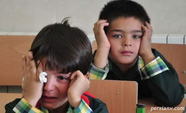 استرس کودکان از مدرسه