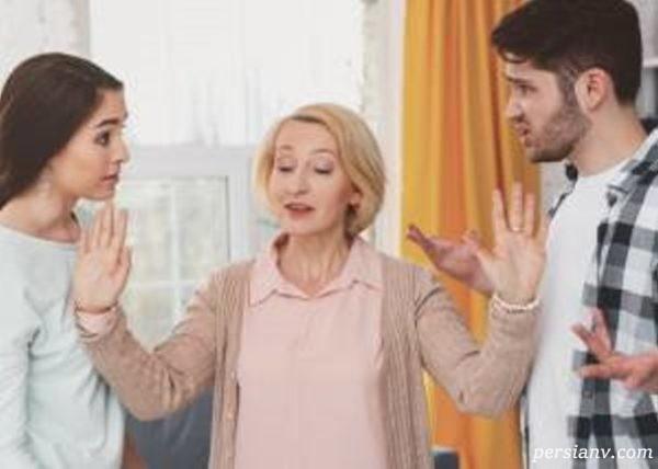 رفتار با عروس بی ادب