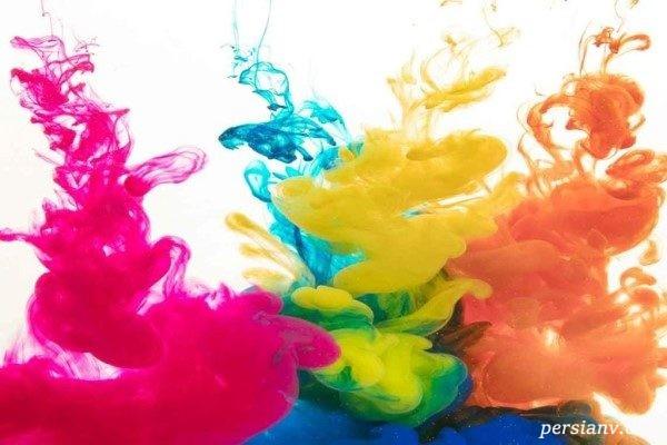 آموزش روانشناسی رنگ ها
