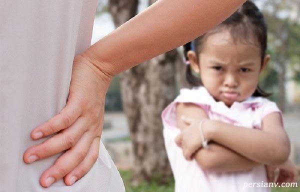 رفتار با کودکان لجباز