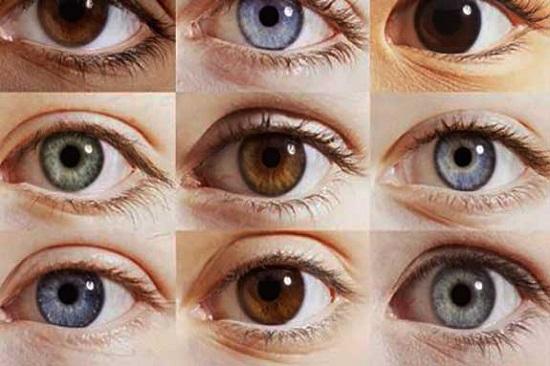 شخصیت شناسی از رنگ چشم
