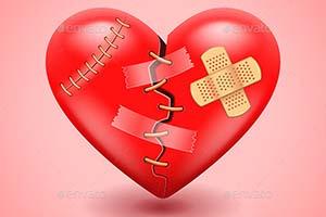 چگونه قلب شکسته را درمان کنیم و دوباره لبخند بزنیم