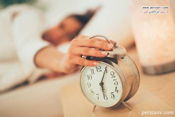 بیدار شدن در صبح