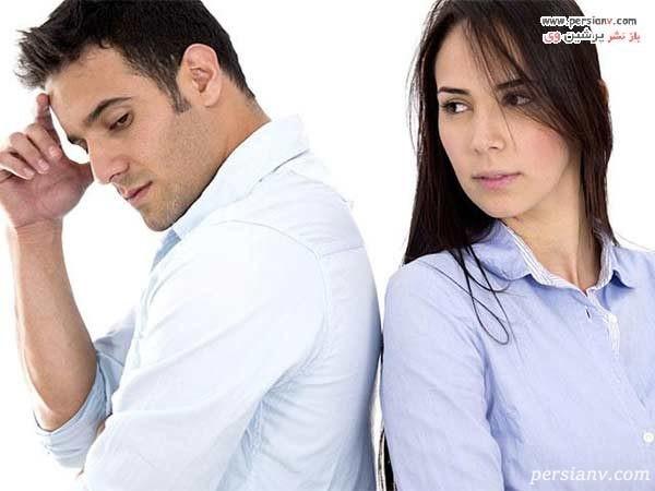 دلایل طلاق مردان