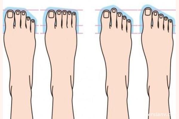 شخصیت شناسی از روی انگشتان پا و راز پنهان انگشت ها