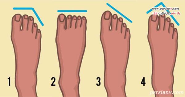 شخصیت شناسی از روی انگشتان پا