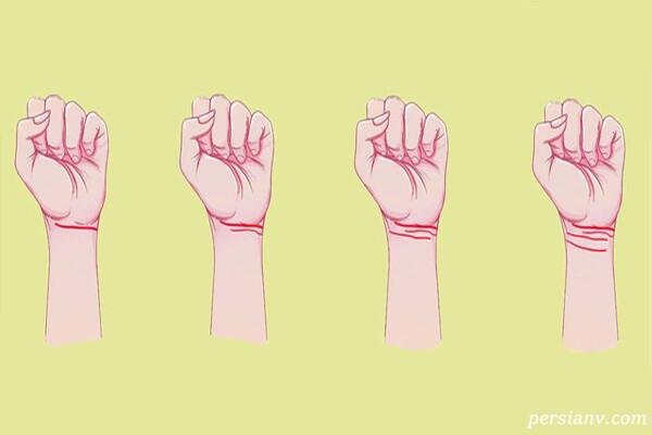 خطوط روی مچ دست و رازهایی که از آینده افشا می کند