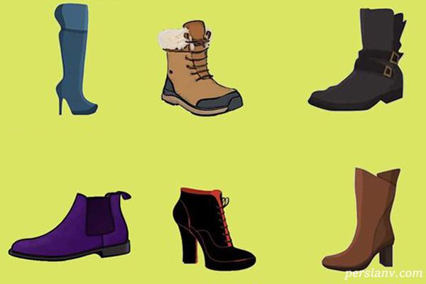 شخصیت شناسی از روی کفش و چکمه زنانه