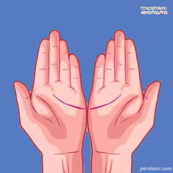 خط عشق هر دو دست برابر