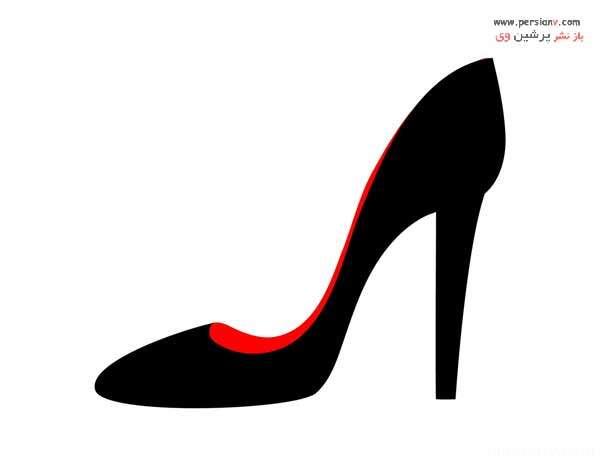 کفش پاشنه دار معمولی