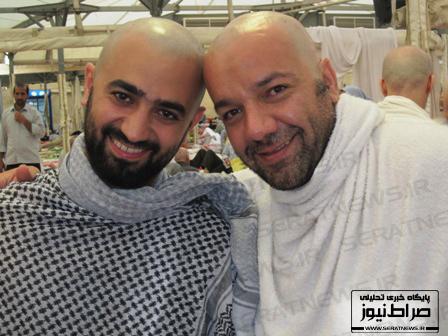عکس/ دو مجری معروف تلویزیون با سر تراشیده