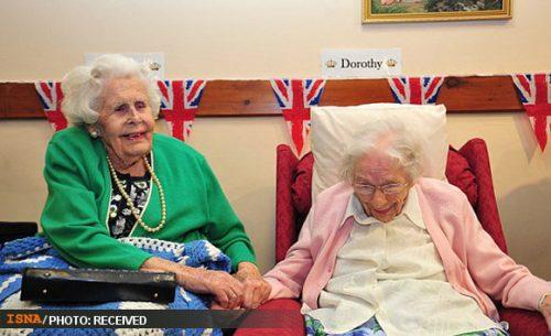 پیرترین خواهران جهان گینسی شدند ! +عکس