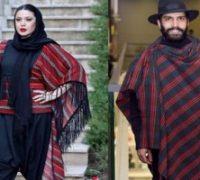 تیپ عجیب و شگفتانگیز دو بازیگر ایرانی که غوغا به پا کرد!