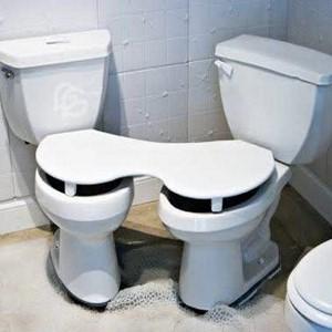 عکس های خنده دار ۴۵۶ | از دستشویی مخصوص تازه عروس دامادهایی که تو یه بشقاب غذا میخورن تا امپراطور بادها !!!!