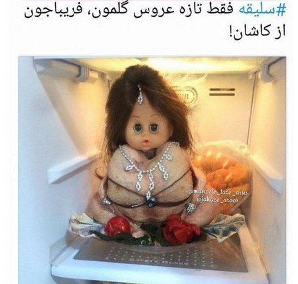عکس های خنده دار ۴۸۶ | از نظر ناصر الدین شاه درباره اُپرا تا نحوه سوار شدن در هواپیما در اینستا !!!
