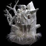 مجسمه سازی , به نمایش گذاشتن وجود یک انسان