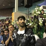 ورزشکاران استقلالی و پرسپولیسی در گردهمایی طرفداران روحانی+عکس