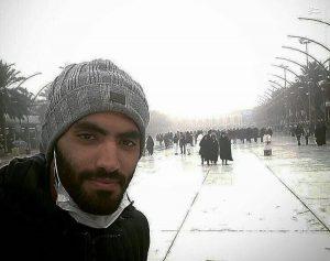 عصبانیت شدید محمد انصاری از انتشار عکس همسرش
