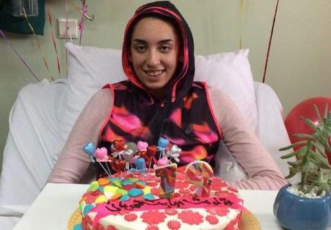 ترخیص کیمیا علیزاده از بیمارستان