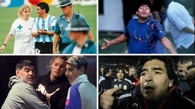 رسواییهای مارادونا