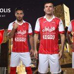 رونمایی از لباس جدید تیم فوتبال پرسپولیس