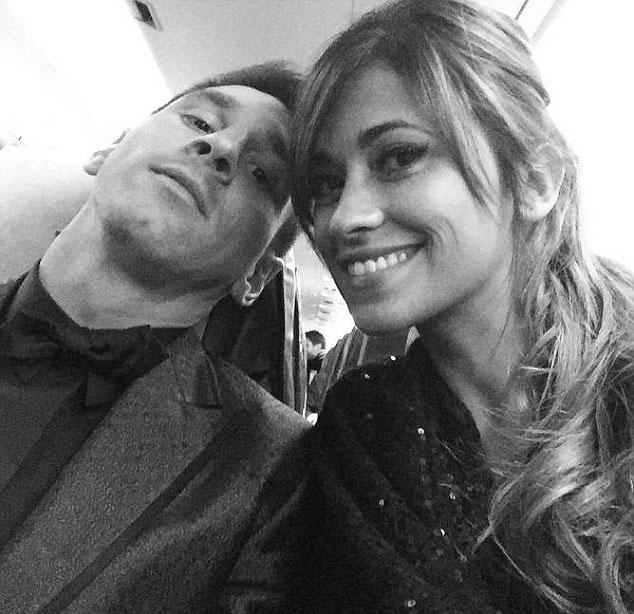 ماه عسل لیونل مسی و همسرش