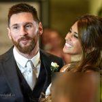 مراسم ازدواج لیونل مسی با آنتونلا روکوز به روایت تصاویر