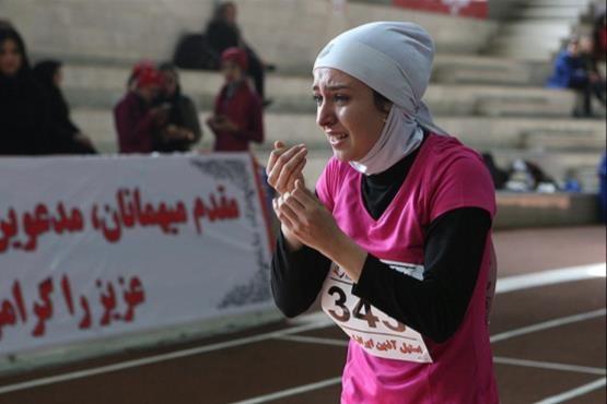 سریع ترین دختر ایران