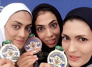 طلای جهان ووشو بر گردن خواهران منصوریان