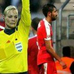 جنجال توهین عجیب یک فوتبالیست به داور زن در آلمان!