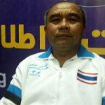 روسری روی سر مربی مرد تیم زنان کبدی تایلند در گرگان!!