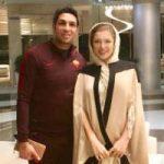 تیپ پاییزی سپهر حیدری و همسرش در شمال!