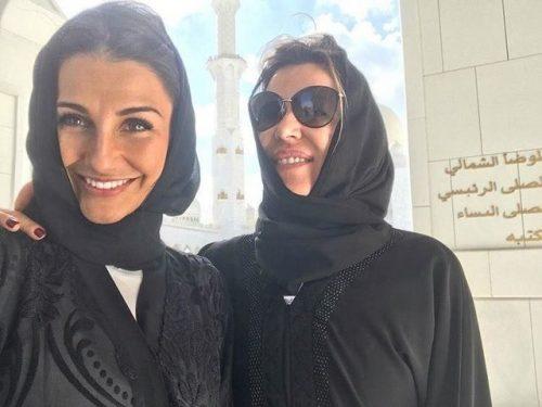 حجاب همسران بازیکنان رئال مادرید