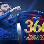 مسی بر صدر ۵ قاره اروپایی ؛ لئو به ۳۶۶ رسید!