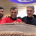 جشن تولد ۳۶ سالگی سیدجلال حسینی با حضور کارلوس کی روش!