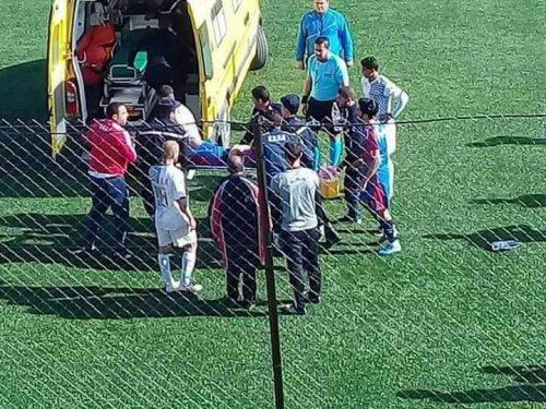 درگذشت فوتبالیست با بلعیدن زبانش