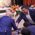دورهمی پیشکسوتان و رئیس فیفا در جشن فوتبال ایران