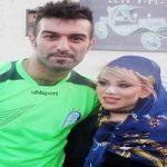 تصاویر منتشر شده از مراسم ازدواج حنیف عمران زاده و همسرش