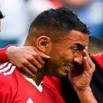 بازیکن مراکشی که گل به خودی زد را در کنار همسرش ببینید!