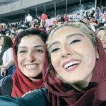 تصاویری از تماشای خانوادگی بازی ایران و اسپانیا در ورزشگاه آزادی