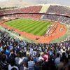 تماشای خانوادگی بازی ایران و اسپانیا در ورزشگاه برزگ آزادی!