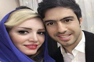 خسرو حیدری در کنار همسرش لاله شفیع زاده و دخترش روشنا